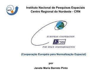 Apresentação das Normas ECSS - CRN