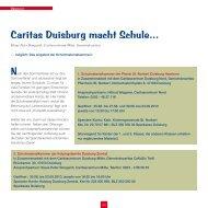 Caritas Duisburg macht Schule...