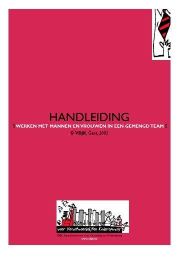 HANDLEIDING - Kind en Gezin