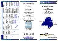 Ausbildungsplatz - Wirtschafts- und Tourismusfördergesellschaft ...