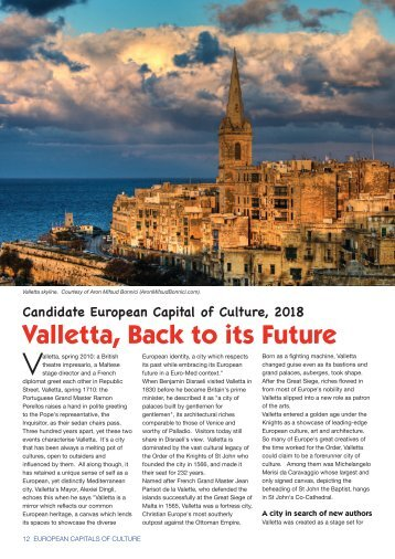 Valletta, Back to its Future