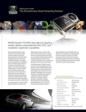 The Revolutionary Visual Computing Solution - Nvidia
