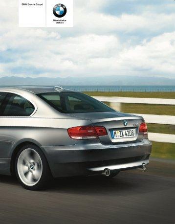BMW 3-serie Coupé När du älskar att köra