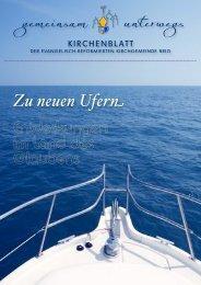 Brig Kirchenblatt 2013, Juli - Oktober - Erkw.ch