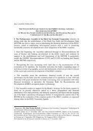 rec. 65/2002 - Parliamentary Assembly of the Black Sea Economic ...