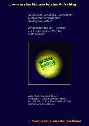 Greenballs - Prospekt als PDF herunterladen - WSW ...
