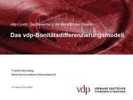 Vortrag Friedrich Munsberg, Mitglied des Vorstandes der Dexia ...