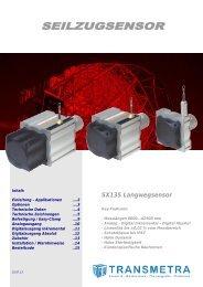 Seilzug - Serie SX135 - Transmetra