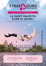 das programm downloaden - Strasbourg mon amour