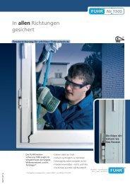 In allen Richtungen gesichert - Carl Fuhr GmbH & Co. KG