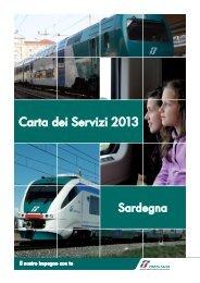 Carta dei Servizi 2013 - Trenitalia