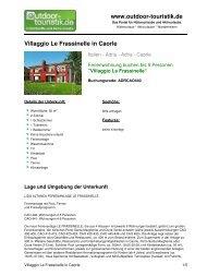 Ferienwohnung für 5 Personen in Caorle - Outdoor-Touristik