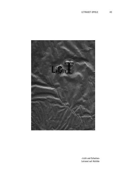 Letraset-Spielerei