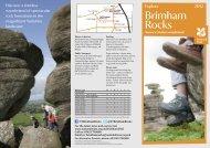 Brimham Rocks NT2012 - Days Out Leaflets