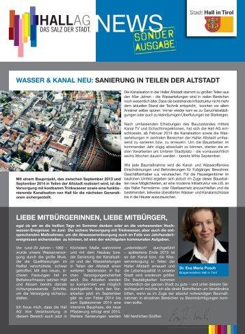 Ausgabe 09/2013 - Hall AG