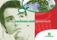 rechnen und - Alois Pöttinger Maschinenfabrik GmbH