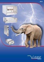 product catalog iseg 2013 - Iseg High Voltage