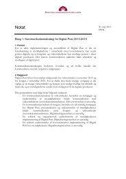 Kommunikationsstrategi for Digital Post_030613.pdf - Borger.dk