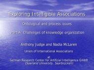 Challenges of knowledge organization - Laetus in Praesens
