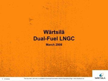 Wartsila dual fuel - Martin's Marine Engineering Page
