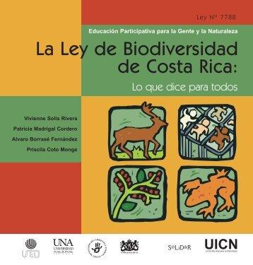 La Ley de Biodiversidad de Costa Rica: - IUCN