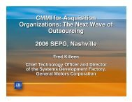 CMMI for Acquisition Organizations - Software Engineering Institute