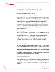 DreamLabo 5000 Technologies Explained - Canon Europe