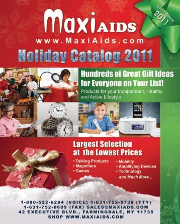 great gift ideas for the holidays - Maxi Aids