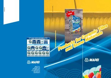 Products for Ceramic Tiles and Stone Materials Products for ... - Mapei