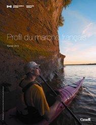 la France - La Commission canadienne du tourisme - Canada