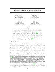 Parallelized Stochastic Gradient Descent