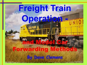 Presentation - Pacific Coast Region of NMRA