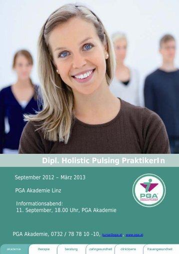 Dipl. Holistic Pulsing PraktikerIn - PGA