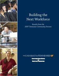 Building the Next Workforce - Southern Growth Policies Board