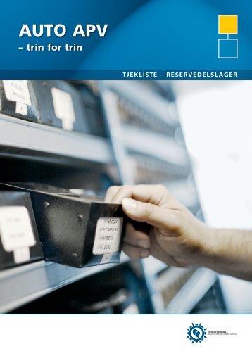 ReseRvedelslageR - Industriens Branchearbejdsmiljøråd