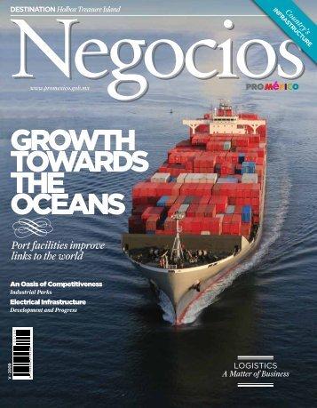 GROWTH TOWARDS THE OCEANS - ProMéxico