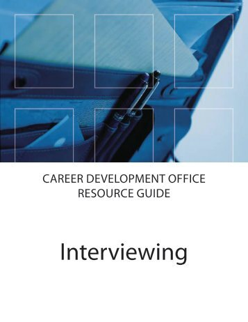 """Interview Guide"" [pdf] - Pomona College"