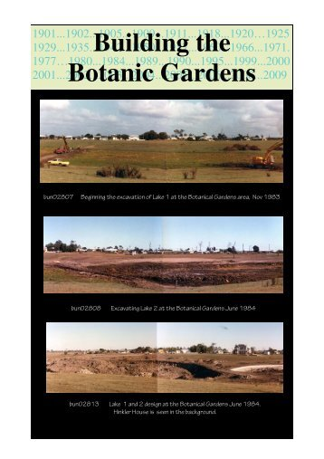 Timeline Botanical Garden
