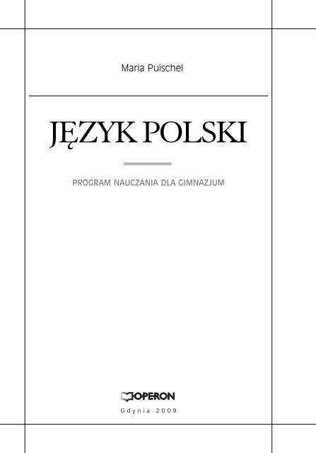 J Polski Programqxd Operon
