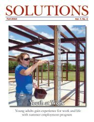 Newsletter: Solutions, Fall 2010 - Texas Workforce Commission