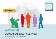 """Broschüre """"Wegweiser durch die digitale Welt"""""""