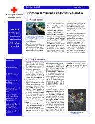 Boletin 5 OICordoba - DISASTER info DESASTRES