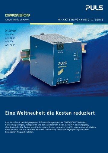 X-Serie - PULS GmbH