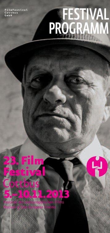 rahMenproGraMM - Filmfestival Cottbus