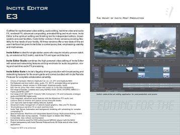Incite Editor 3.0