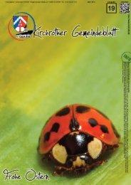Nr. 19 (März 2013 - 36 Seiten) - Gemeinde Kirchroth