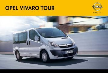 opel vivaro combi tour. Black Bedroom Furniture Sets. Home Design Ideas