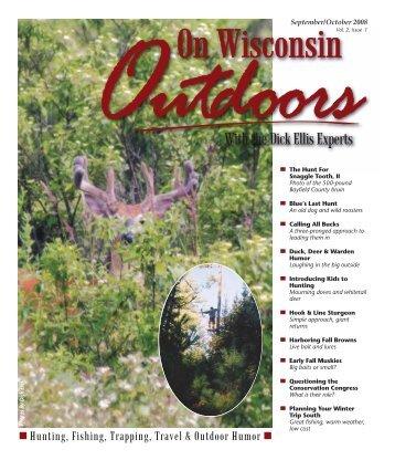 September/October 2008 - On Wisconsin Outdoors