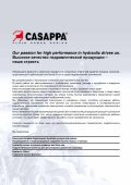HYDRAULIC PUMPS, MOTORS & FILTERS - Casappa - Page 2