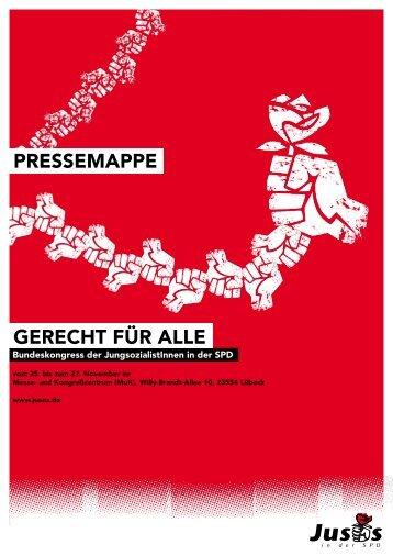 PRESSEMAPPE GEREcht füR ALLE - Jusos